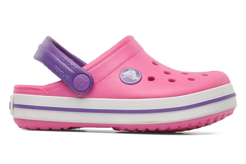 Sandalen Crocs Crocband kids rosa ansicht von hinten