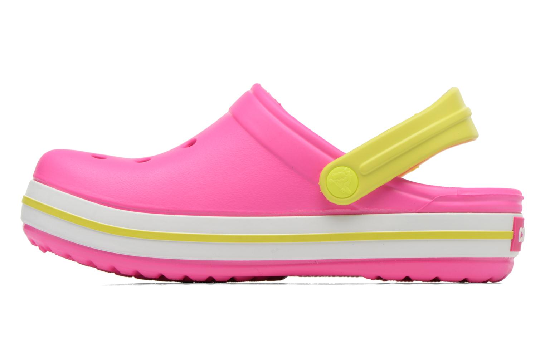 Sandalen Crocs Crocband kids Roze voorkant