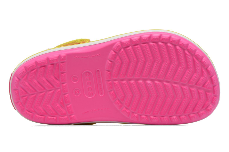 Sandales et nu-pieds Crocs Crocband kids Rose vue haut