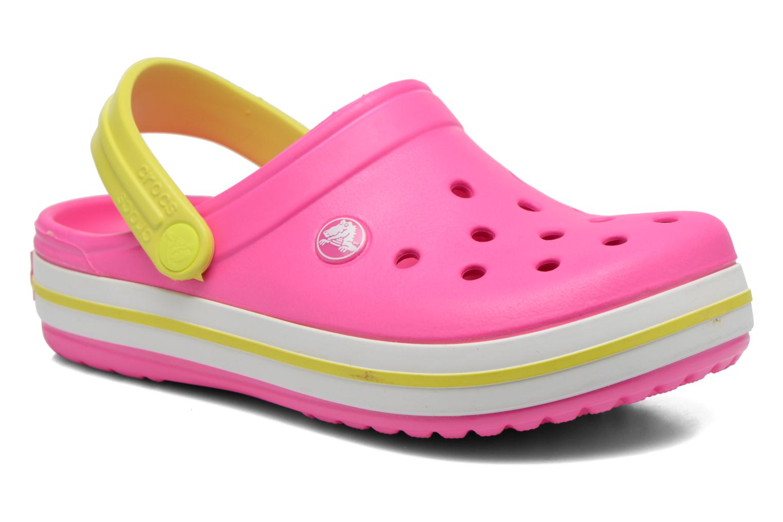 Sandales et nu-pieds Crocs Crocband kids Rose vue détail/paire