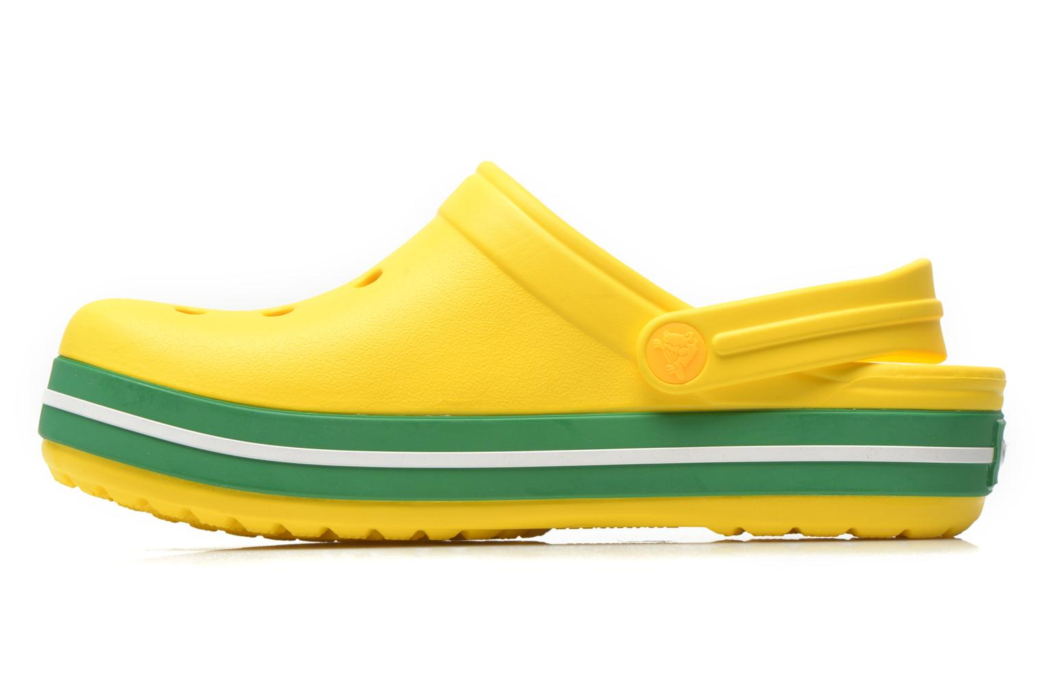 Crocband kids Yellow/Kelly Green