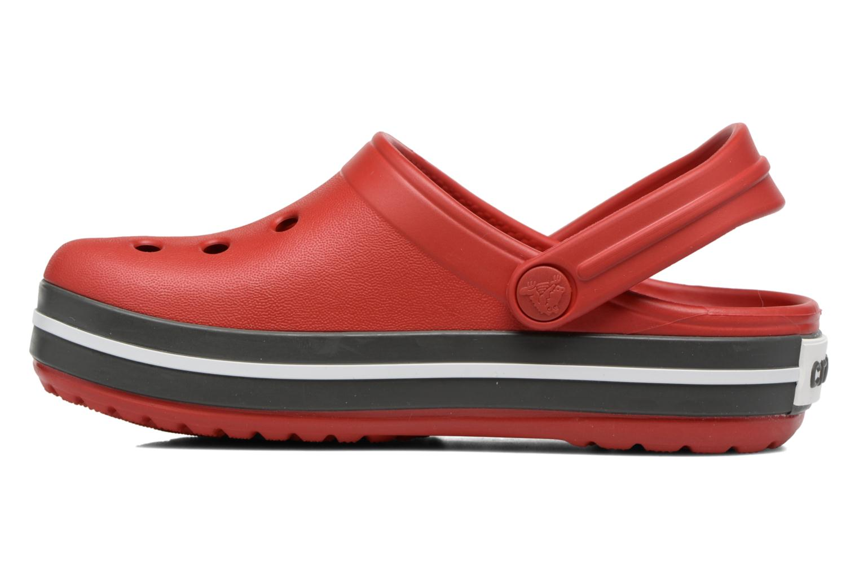 Sandaler Crocs Crocband kids Röd bild från framsidan