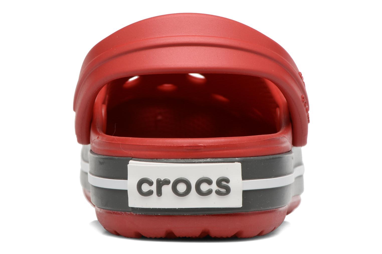 Sandales et nu-pieds Crocs Crocband kids Rouge vue droite