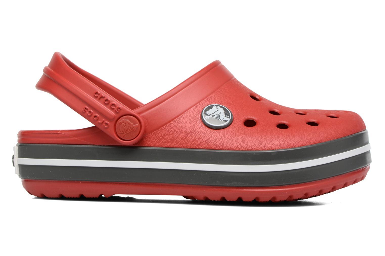 Sandalen Crocs Crocband kids rot ansicht von hinten