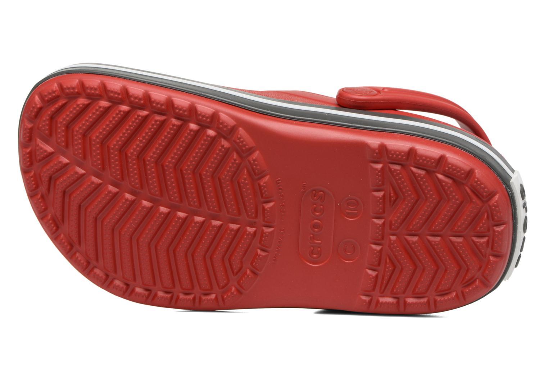 Sandalias Crocs Crocband kids Rojo vista de arriba