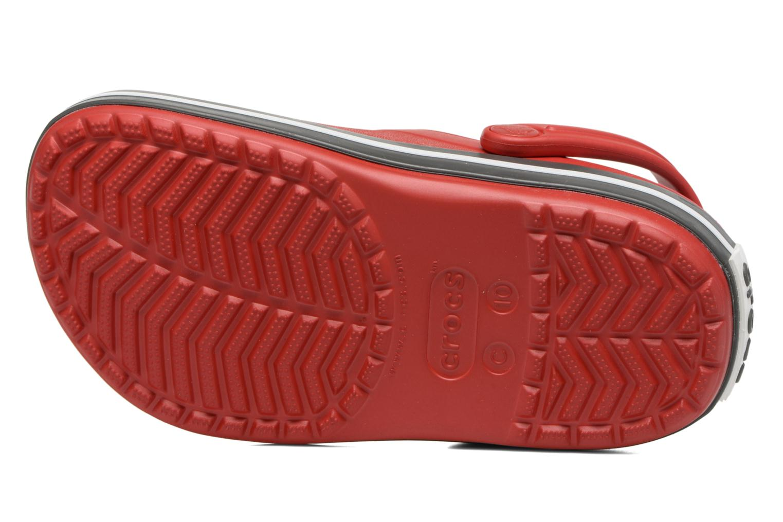 Sandaler Crocs Crocband kids Röd bild från ovan