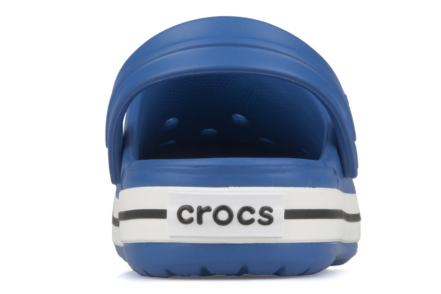 Sandals Crocs Crocband kids Blue view from the right