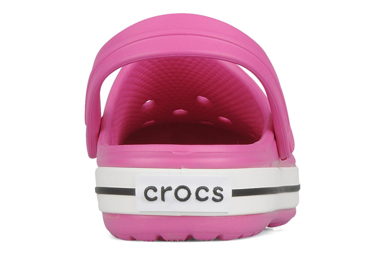 Sandales et nu-pieds Crocs Crocband kids Rose vue droite
