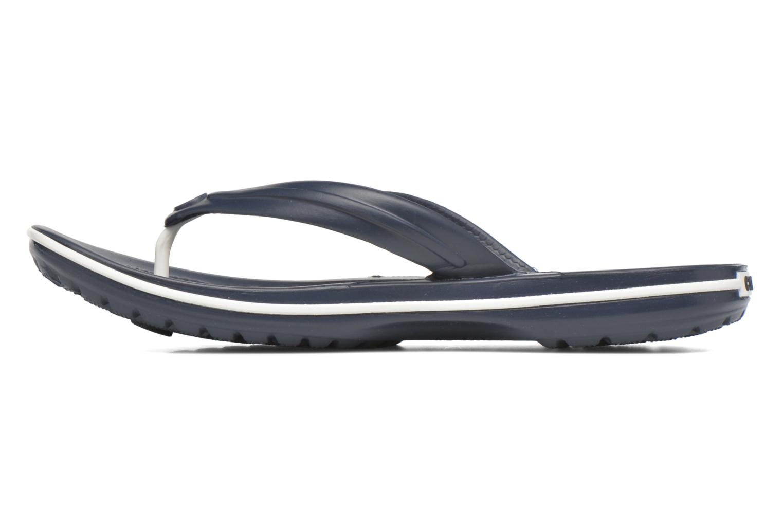 Slippers Crocs Crocband Flip W Blauw voorkant