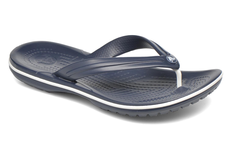 Slippers Crocs Crocband Flip W Blauw detail