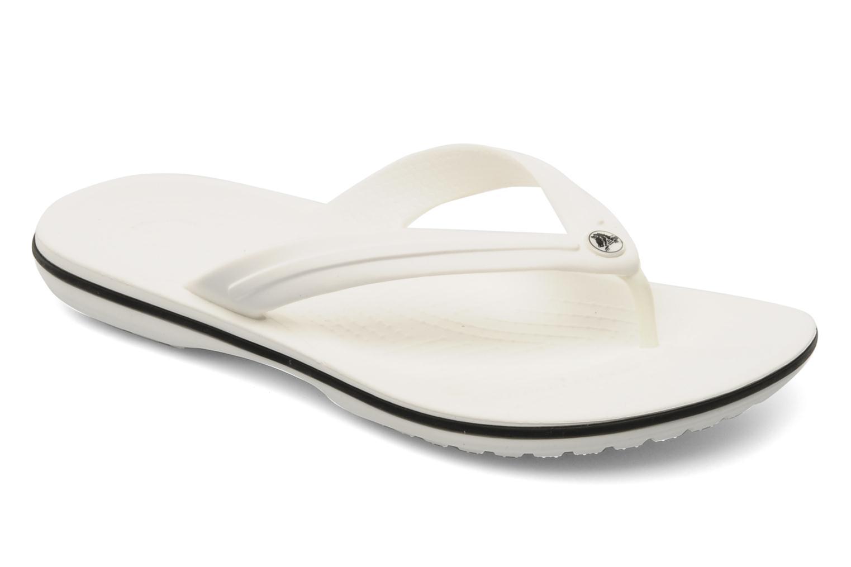 Crocband flip w White