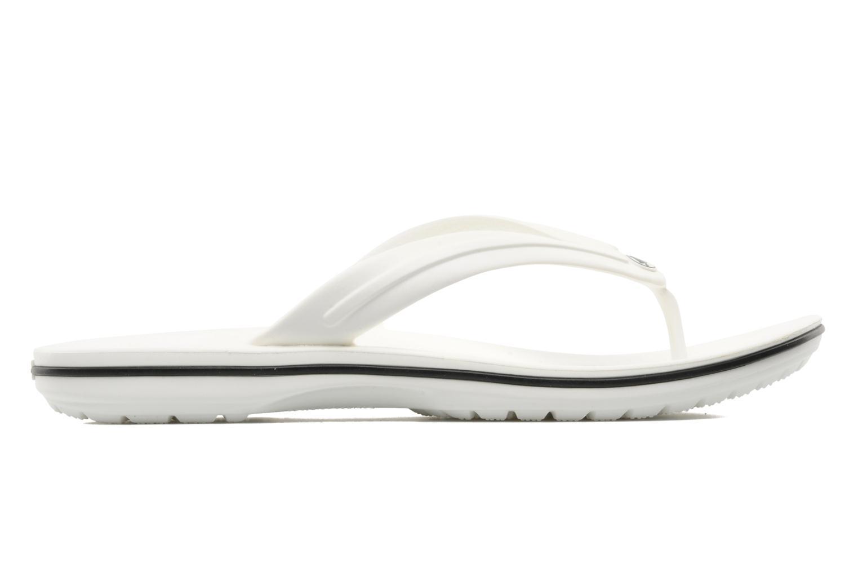 Flip flops Crocs Crocband Flip M White back view