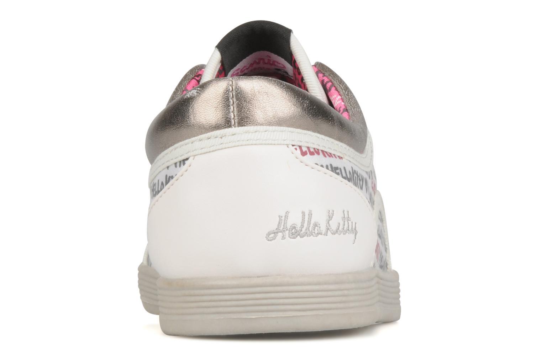 Baskets Hello Kitty Hk luna low Blanc vue droite
