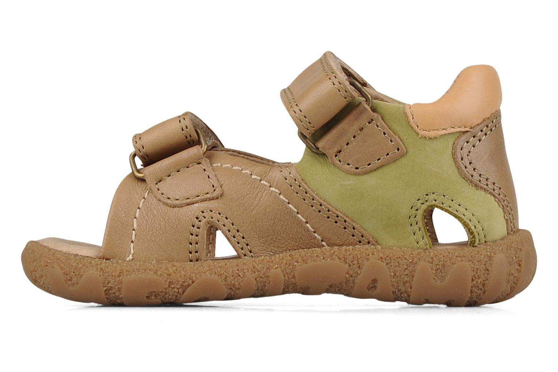 Sandales et nu-pieds Mod8 Batofar Beige vue face