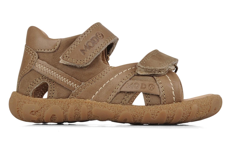 Sandales et nu-pieds Mod8 Batofar Marron vue derrière