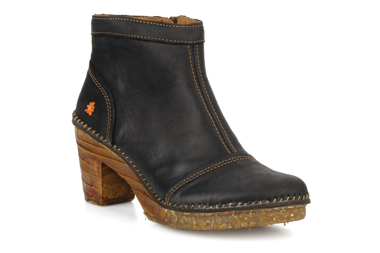 Boots en enkellaarsjes Art Amsterdam 316 Zwart detail