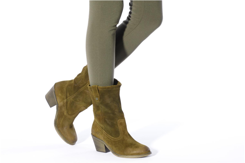 Boots en enkellaarsjes IKKS Gabriella Bruin onder
