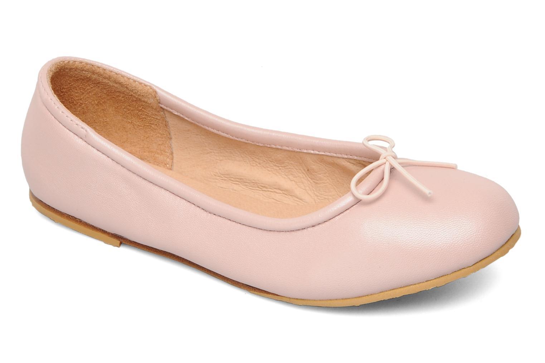 Ballerines Bloch Arabella Rose vue détail/paire