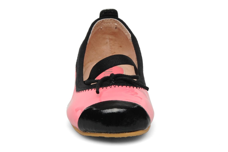 Ballerines Bloch Luxury toddler Rose vue portées chaussures