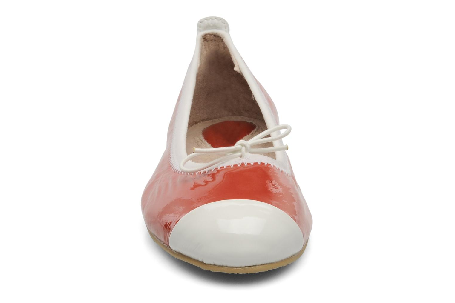 Ballerinas Bloch Girls luxury rot schuhe getragen