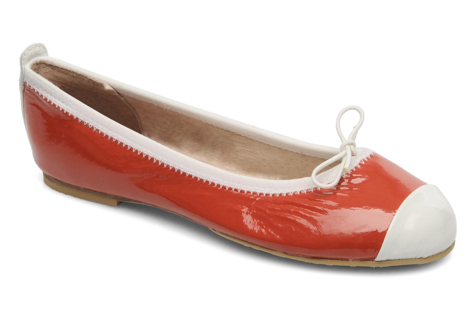Ballerinas Bloch Girls luxury rot detaillierte ansicht/modell