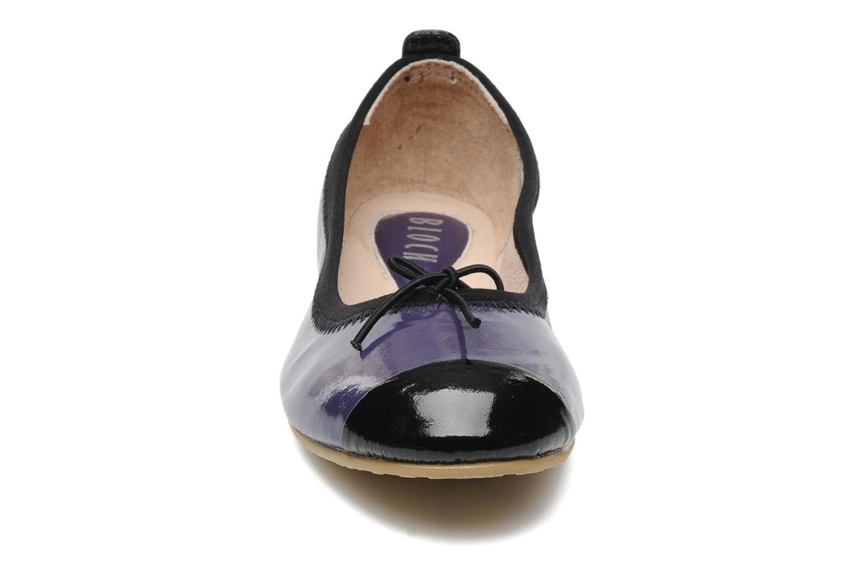 Ballerinas Bloch Girls luxury lila schuhe getragen