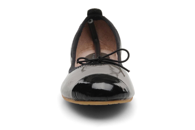 Ballerines Bloch Girls luxury Gris vue portées chaussures