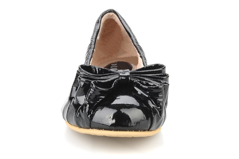 Ballerinaer Bloch Girls tula Sort se skoene på