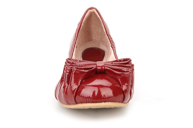 Ballerina Bloch Girls tula Röd bild av skorna på
