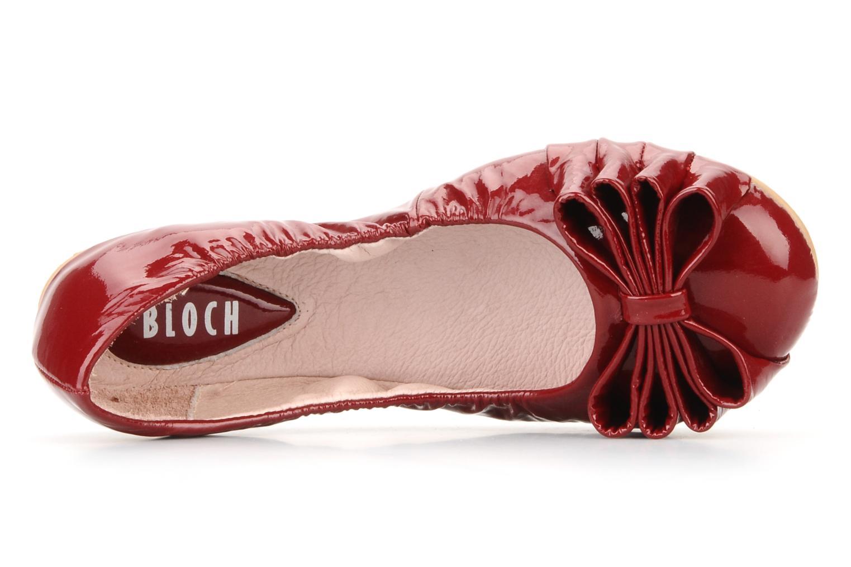 Ballerinas Bloch Girls tula rot ansicht von links