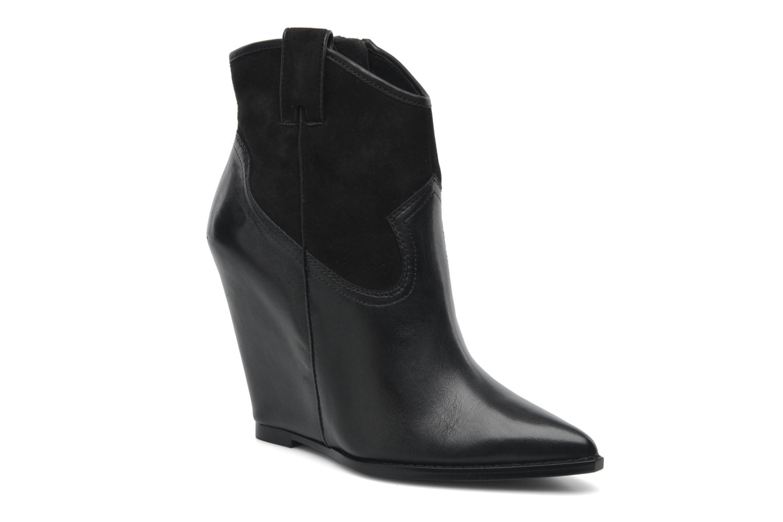 Boots en enkellaarsjes Ash Jude Zwart detail