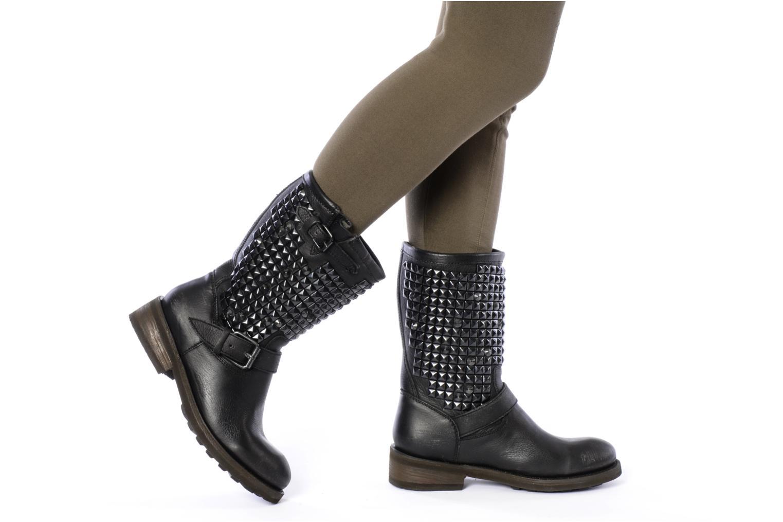 Bottines et boots Ash Trash bis Noir vue bas / vue portée sac