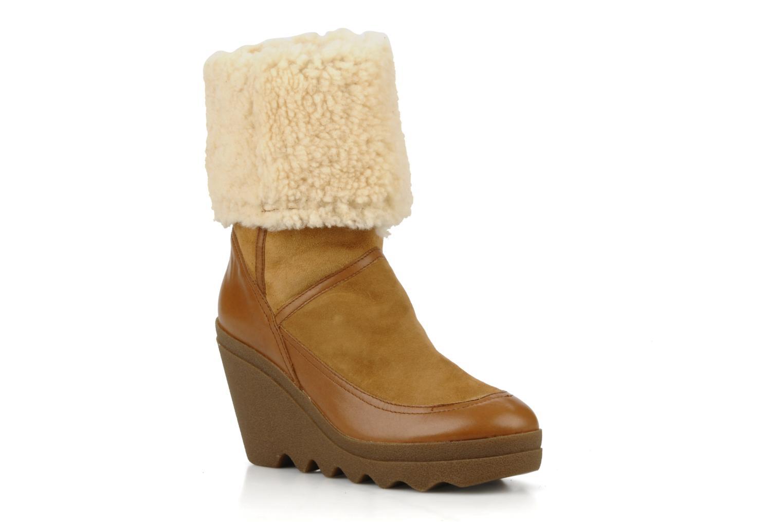 Bottines et boots Ash Varuska Marron vue détail/paire