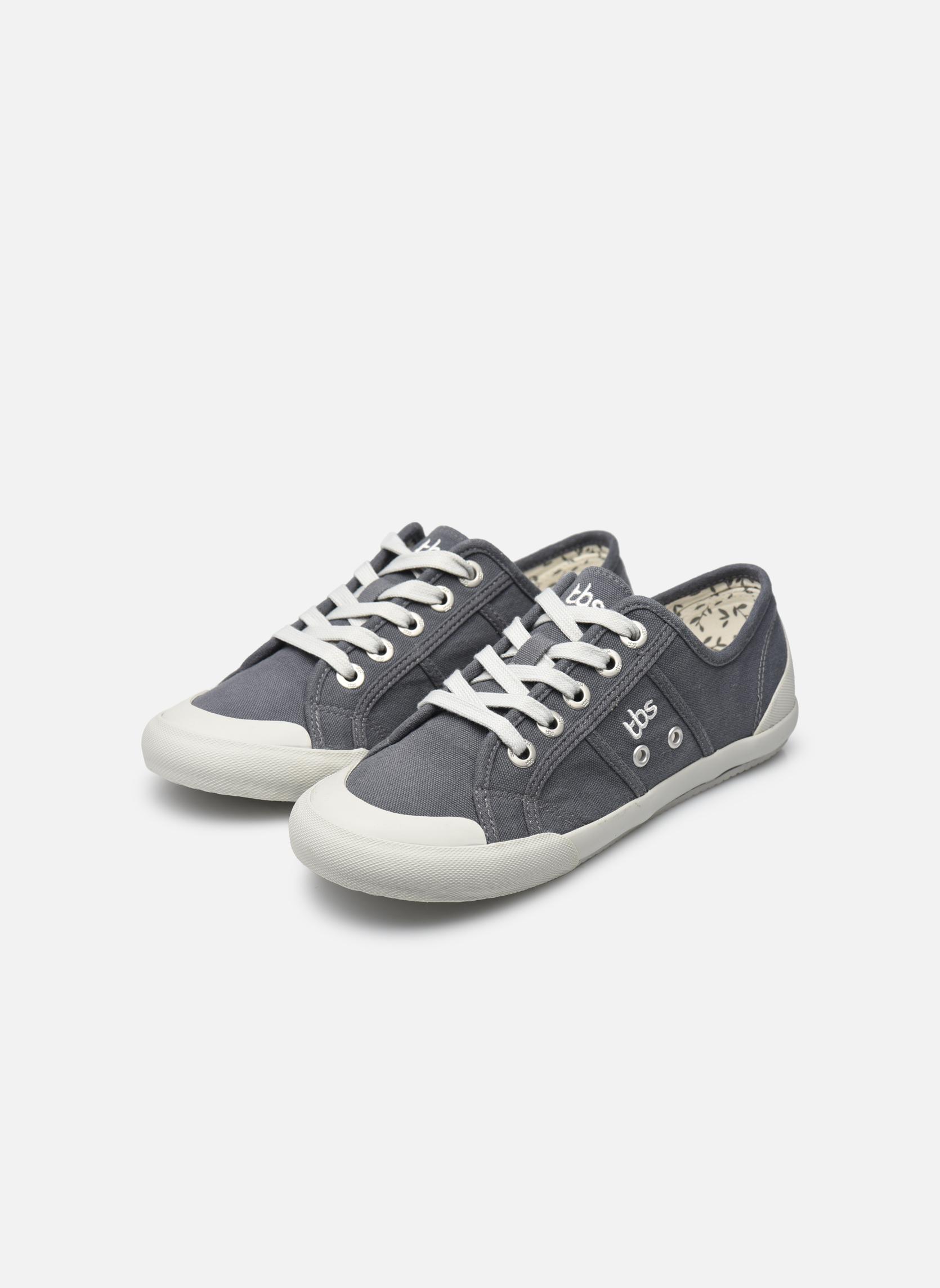 Sneaker TBS Opiace grau ansicht von unten / tasche getragen
