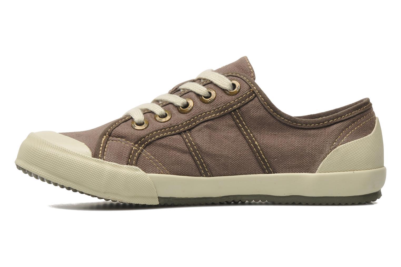 Sneakers TBS Opiace Marrone immagine frontale