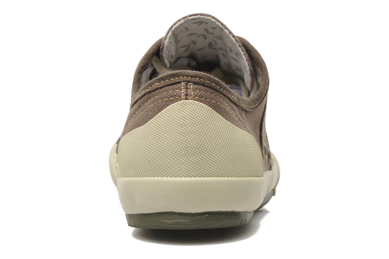 Sneakers TBS Opiace Marrone immagine destra