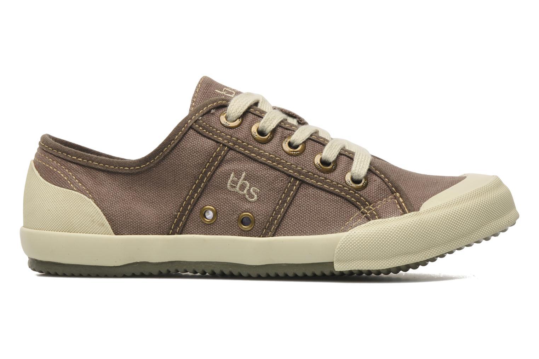 Sneakers TBS Opiace Marrone immagine posteriore