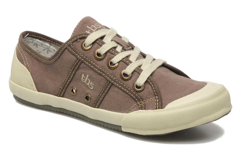 Sneakers TBS Opiace Marrone vedi dettaglio/paio