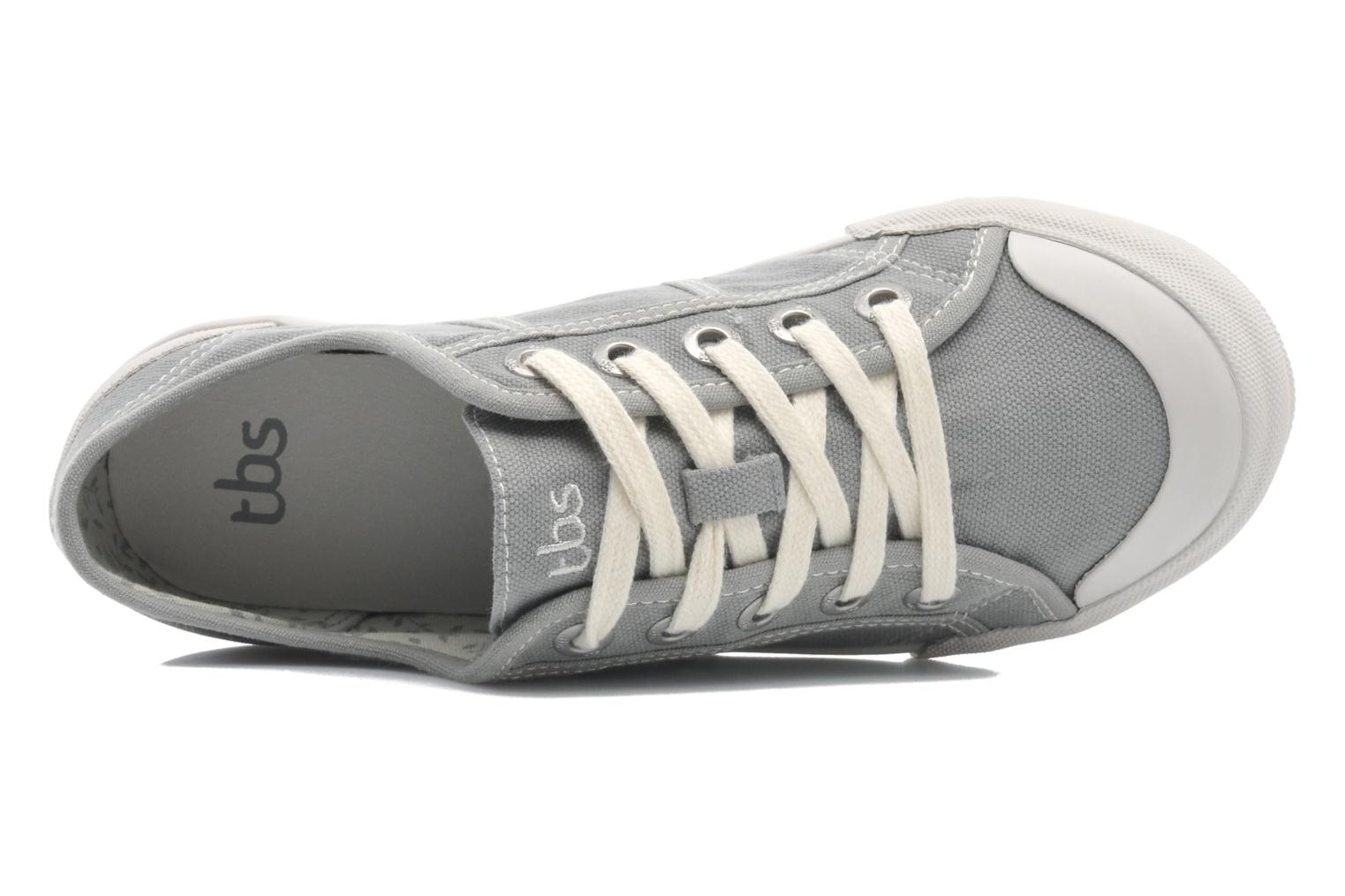 Sneakers TBS Opiace Grigio immagine sinistra