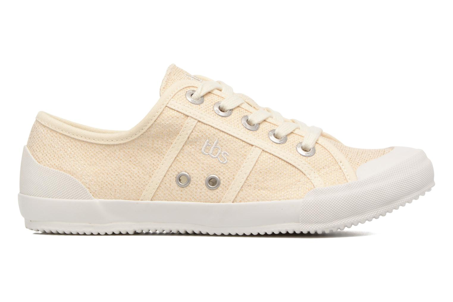 Sneakers TBS Opiace Beige immagine posteriore