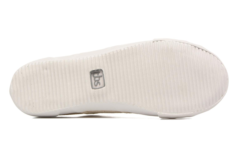 Sneakers TBS Opiace Beige immagine dall'alto