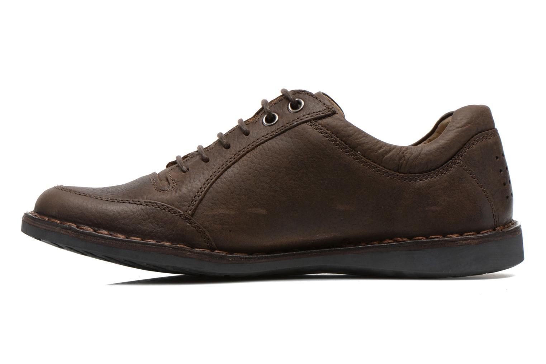 Chaussures à lacets TBS Kleist Marron vue face
