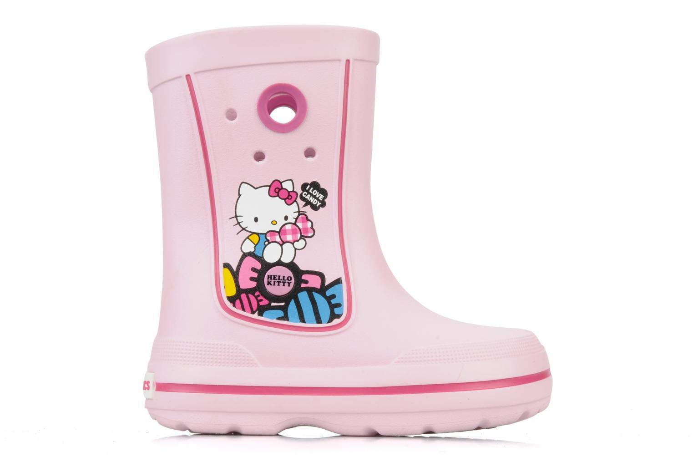 Stiefel Crocs Jaunt hello kitty rosa ansicht von hinten
