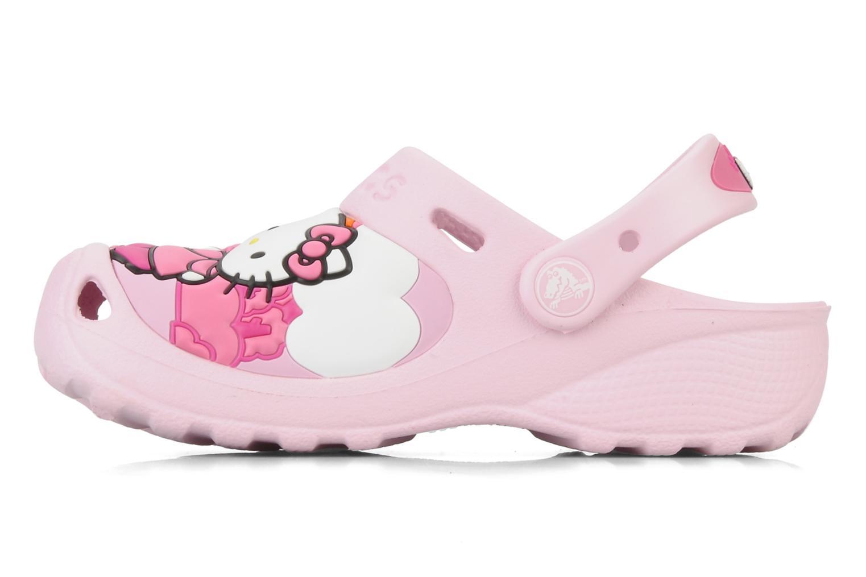 Sandalen Crocs Hello Kitty Fun Rain Or Sun rosa ansicht von vorne