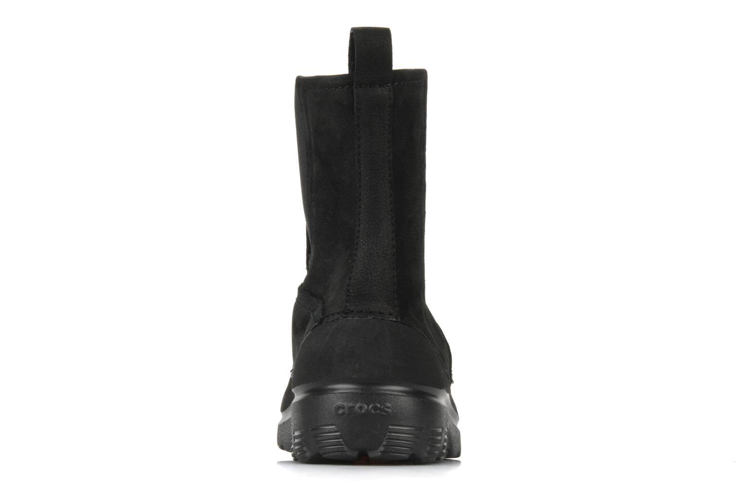 Ankle boots Crocs Greeley Black view from the right
