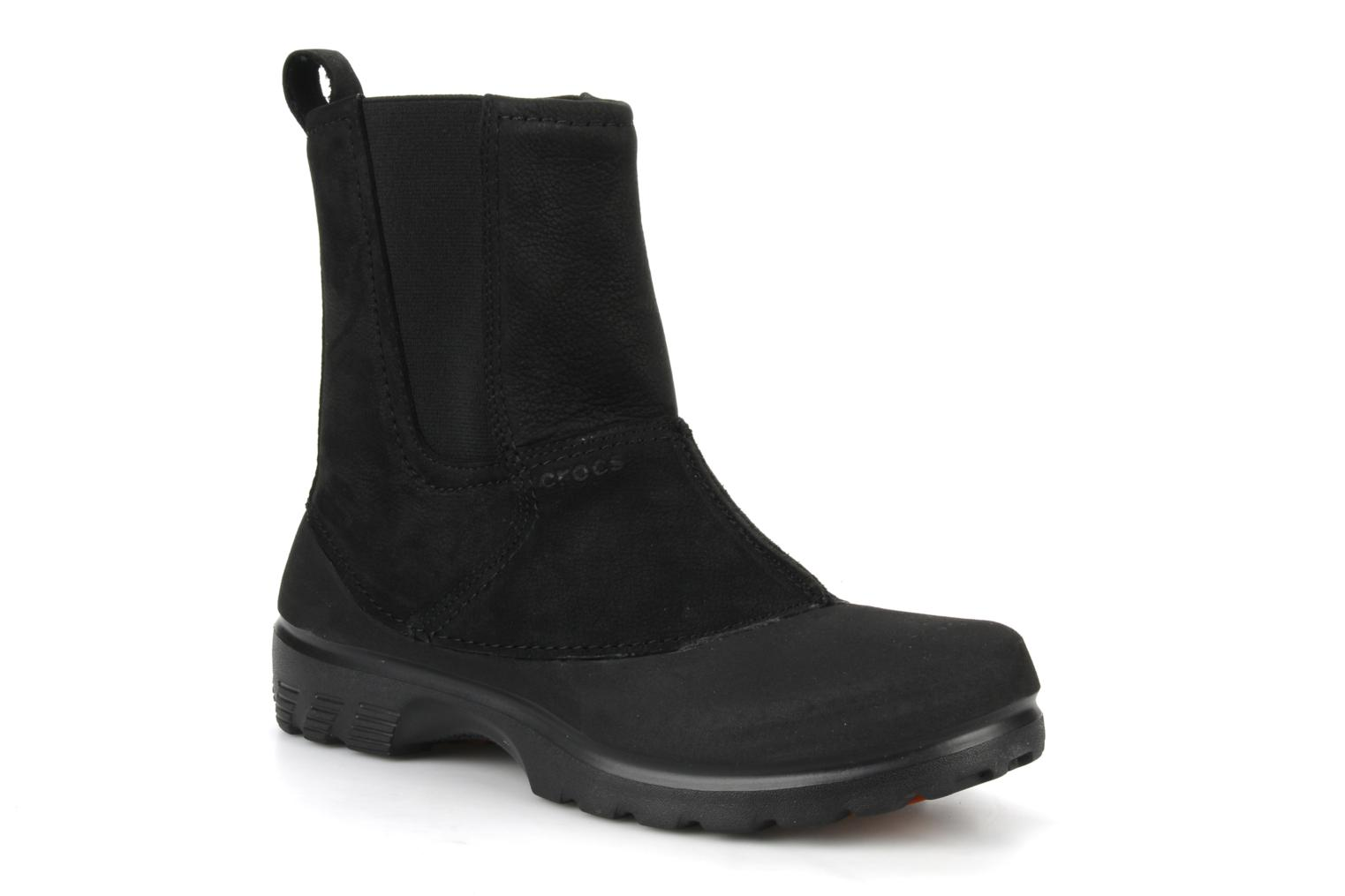 Ankle boots Crocs Greeley Black detailed view/ Pair view