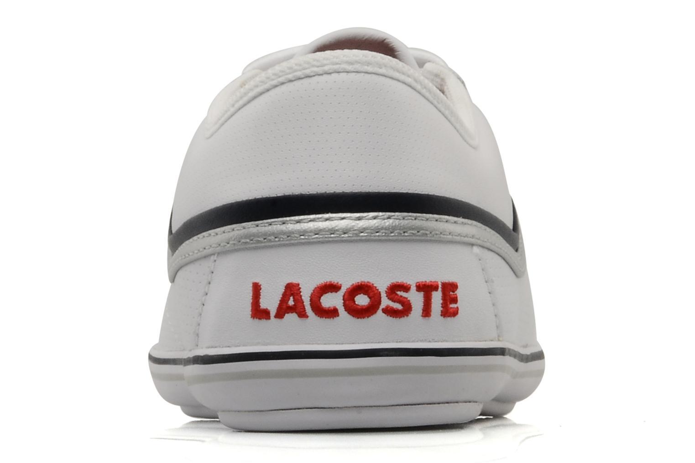 Baskets Lacoste Cairon m Blanc vue droite
