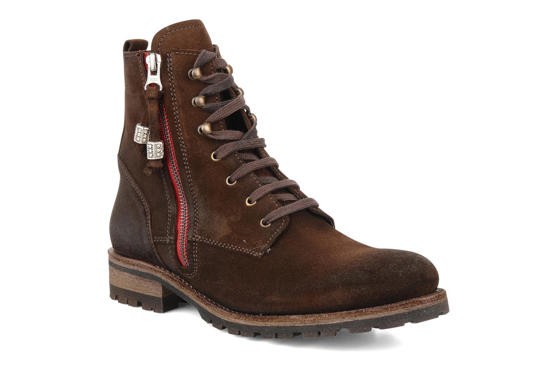 Bottines et boots Sancho Boots Randy Marron vue détail/paire