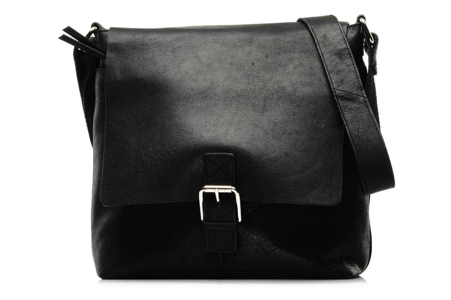 Tuition class Black leather