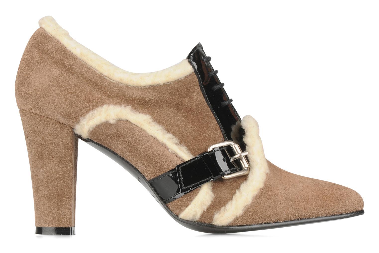 Chaussures à lacets Charlotte Vanel Dandy Marron vue derrière